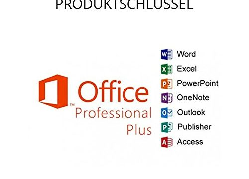 Microsoft Office Professional Plus 2016 – für Word, Excel, PowerPoint, OneNote, Outlook, Publisher und Access License – USB