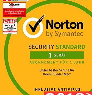 Norton Security Standard 2018 | 1 Gerät | 1 Jahr | Windows/Mac/Android/iOS | Download