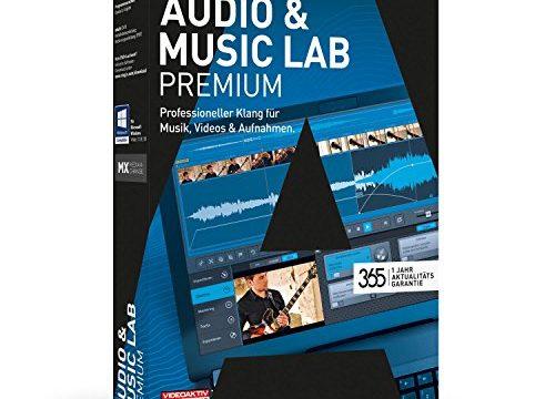 MAGIX Audio & Music Lab – 2017 Premium – Audiobearbeitung perfektioniert. Videoton revolutioniert.