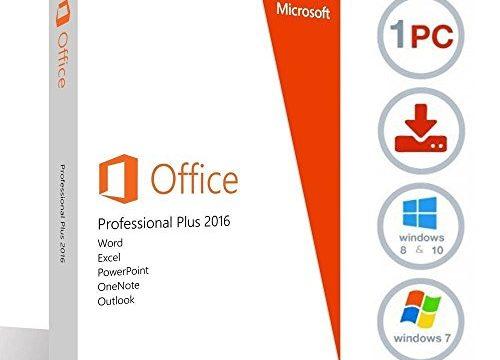 Geliefert per E-Mail – ESD – Vollversion – Microsoft Office Professional Plus 2016 – 32/64 Bit