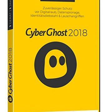 S.A.D Cyberghost 2018 1 Gerät / 1 Jahr Software