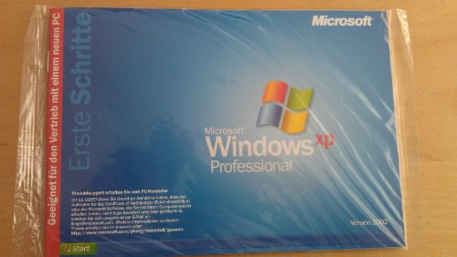 Windows XP Professional SP2 neu ungeöffnet, nicht registriert
