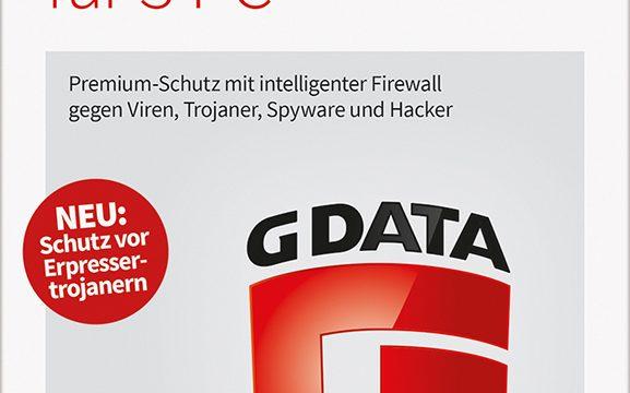 G DATA Internet Security 2017 für 3 PC Download