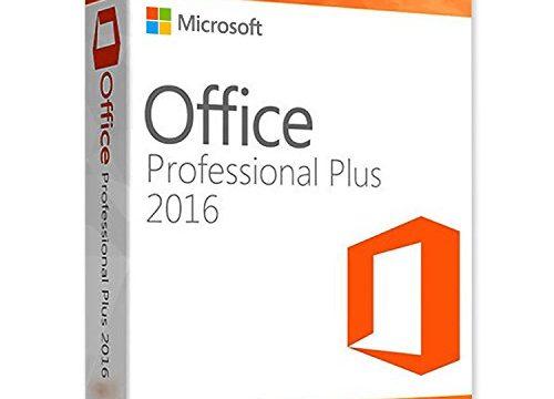 Microsoft Office Professional Plus 2016 Vollversion – 1 PC