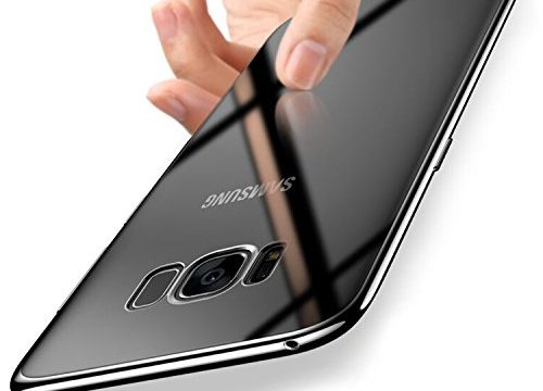 Samsung Galaxy S8 Hülle Silikon, Orlegol Handyhüllen Samsung Galaxy S8 Silikon Hülle TPU Bumper Case Cover Ultra Dünn Kratzfest Schutzhülle Case für Samsung Galaxy S8 Cover Case – Clear