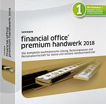 Lexware financial office premium handwerk 2018 Jahresversion 365-Tage