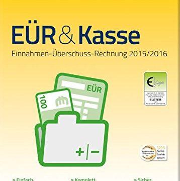 WISO EÜR und Kasse 2016 frustfreie Verpackung