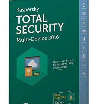 Kaspersky Total Security Multi-Device 2016 frustfreie Verpackung
