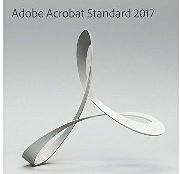 Adobe Acrobat Standard 2017 Windows Englisch Disc