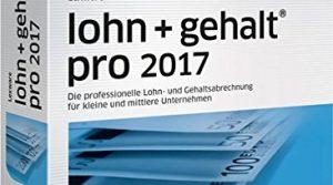 Lexware lohn+gehalt 2017 pro-Version Minibox Jahreslizenz / Einfache Lohn- & Gehaltsabrechnungs-Software für kleine und mittlere Unternehmen / Kompatibel mit Windows 7 oder aktueller