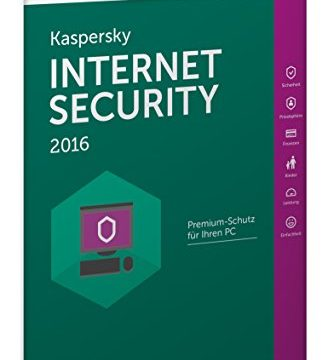 Kaspersky Internet Security 2016 – 3 PCs / 1 Jahr Frustfreie Verpackung