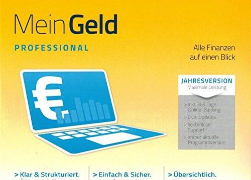 WISO Mein Geld Professional 2015 CD – Jahresversion – BUHL – gültig auch für Jahr 2017 / 2018 – inkl. Update für 365 Tage in Papersleeve