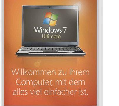 Windows 7 Ultimate 64 Bit OEM Alte Version