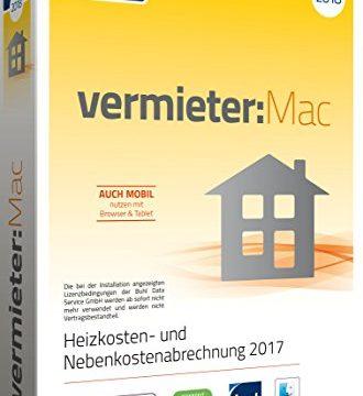 Heizkosten- und Nebenkostenabrechnung 2017 – WISO vermieter:Mac 2018