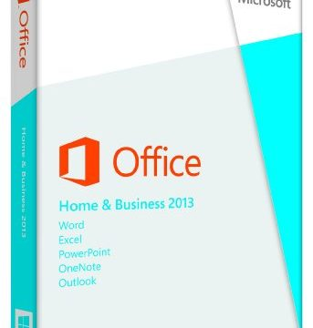 Microsoft Office 2013 Home & Business Product Key Card, 1 PC