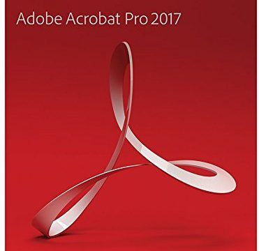 Adobe Acrobat Pro 2017 Windows Englisch Disc