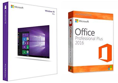 Windows 10 Professional 32/64 Bit + Office 2016 Professional Plus inkl. Kundensupport der Fa. Krolltech