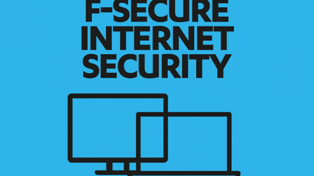 F-Secure Internet Security 2016 – 1 Jahr / 1 PC Online Code