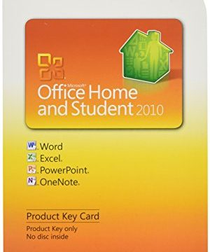 1 User – Microsoft Office Home and Student 2010