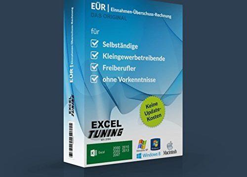 Excel-Tuning-EÜR Einnahme- Überschussrechnung Version 2.6