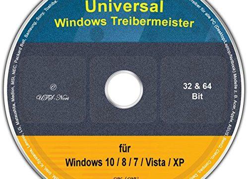 Universal Treiber-Meister für Windows 10 / 8 / 7 / Vista / XP 32/64 Bit