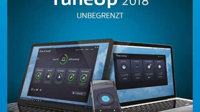 AVG TuneUp Unlimited 2018 / 24 Monate Online Code