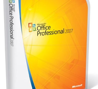 Microsoft Office Professional 2007 deutsch