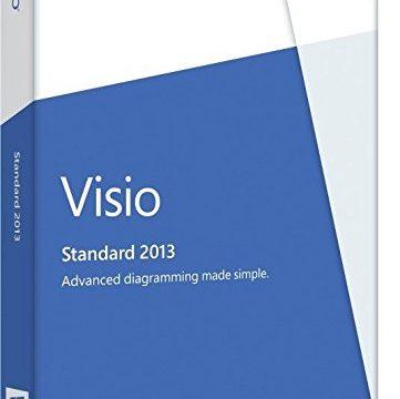 Microsoft Visio Professional 2013 – 1PC Product Key ohne Datenträger