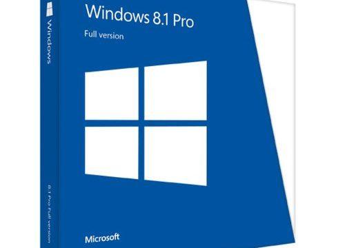 MS Win Pro 8.1 32-bit/64-bit Intl DVD EN