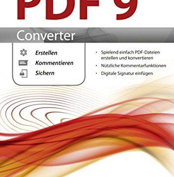 Perfect PDF 9 Converter – PDFs erstellen, konvertieren, schützen, Kommentare hinzufügen, Digitale Signatur einfügen | 100% Kompatibel mit Adobe Acrobat