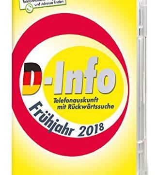D-Info mit Rückwärtssuche Frühjahr 2018|Standard|1|unbegrenzt|PC|Disc|Disc