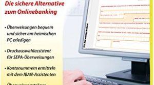 SEPA Überweisungs Druckerei 8 – die sichere Alternative zum Online Banking für Windows 10 / 8.1 / 8 / 7