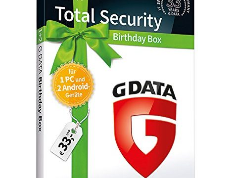 G DATA Total Security Birthday Box