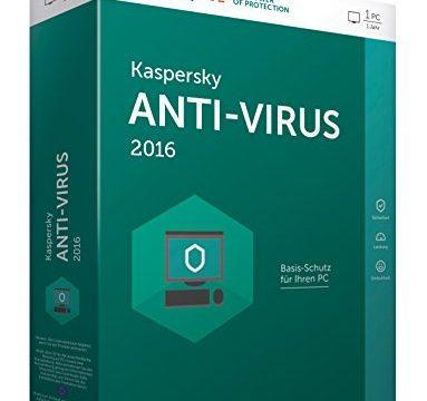 1 PC / 1 Jahr – Kaspersky Anti-Virus 2016