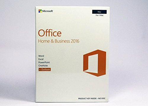 Licence Key Mac – Microsoft Office Home and Business 2016