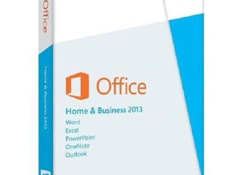 Microsoft Office Home and Business 2013 – 1PC Product Key Card ohne Datenträger – englisch