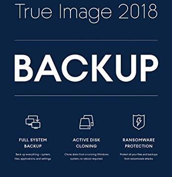 Nero API Acronis True Image BOX 1PC, 2018 Software