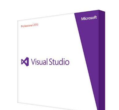 MS Visual Studio Pro 2013 DVD DE