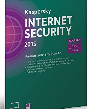 Kaspersky Internet Security 2015 Upgrade – 1 PC  Frustfreie Verpackung