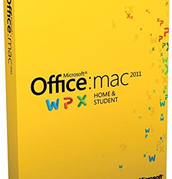 Lizenz – Microsoft Office for Mac Home and Student 2011