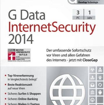 G Data Internet Security 2014 – 3 PCs Download