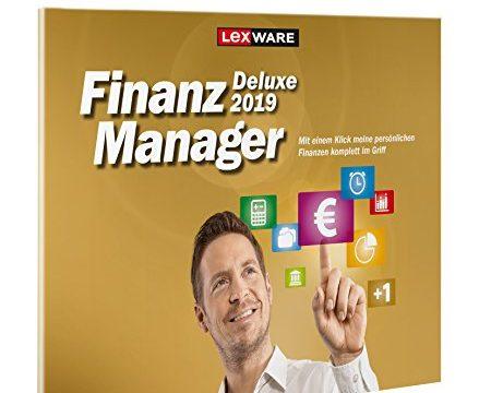 Lexware FinanzManager Deluxe 2019 in frustfreier Verpackung / Einfache Buchhaltungs-Software für private Finanzen & Wertpapier-Handel / Kompatibel mit Windows 7 oder aktueller