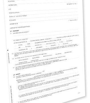 Avery Zweckform 2849e Mietvertrag Wohnung PDF-Download