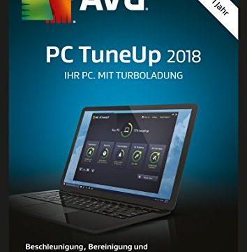 3 PCs / 1 Jahr – S.A.D AVG PC TuneUp 2018