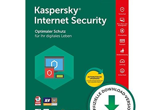 Kaspersky Internet Security 2018 Upgrade | 3 Geräte | 1 Jahr | Windows/Mac/Android | Download