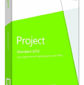 1PC Product Key Card ohne Datenträger – Microsoft Project 2013
