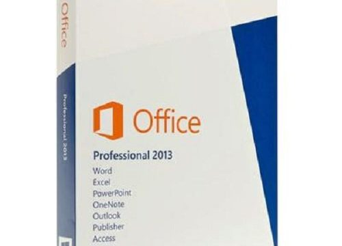 englisch – Microsoft Office Professional 2013 – 1PC Product Key Card ohne Datenträger
