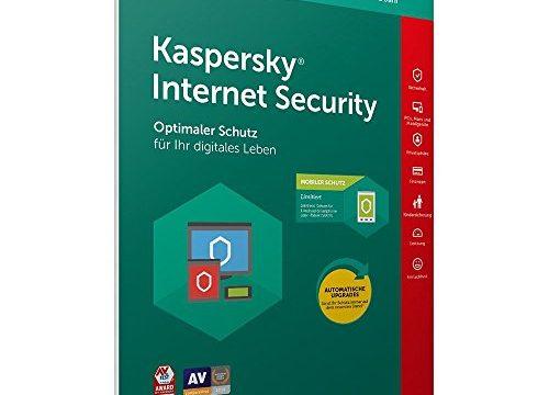 Kaspersky Internet Security 2019 | 1 Gerät | 1 Jahr | in allen europäischen Sprachen einsetzbar | inkl. ausführlicher Anleitung von deincomputer®
