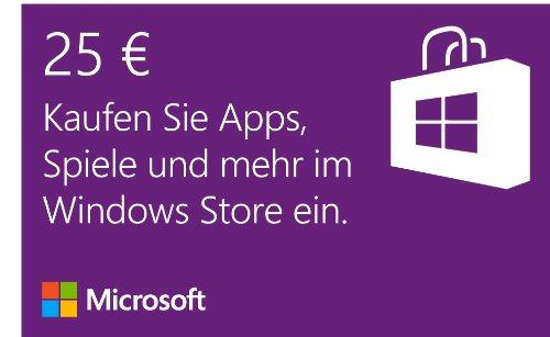 Windows Store – 25 EUR Guthaben Online Code