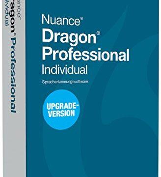Nuance Dragon Professional Individual Die Version 14 ist upgradefähig von Premium 12 und 13.